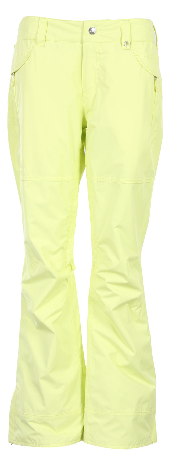 Snowboard Key Features of The Burton Guard Women's Snowboard Pants: 5,000mm Waterproof 5,000g Breathability DRYRIDE Durashell 2-Layer Coated Smooth Face Woven Fabric [5,000MM, 5,000G] Fully Taped Seams Mesh Lined Inner Thigh Vents Taffeta Wrapture Lining Includes Women's Burton Pant Features Package Slim Fit - $54.95