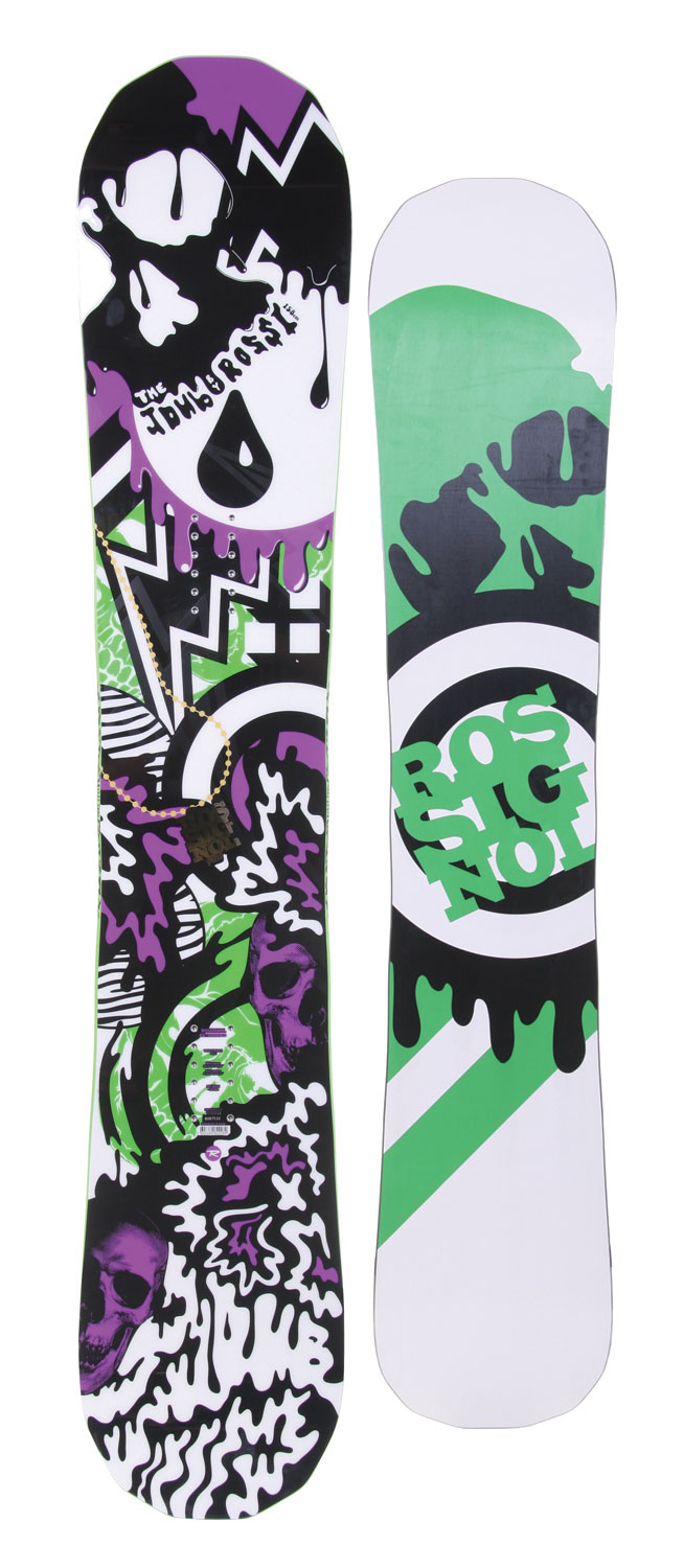 Snowboard Our flagship Magne Traction model is unique, and we're not just talking about the tip/tail shape. Built for freestyle riders that ride everything from giant kickers in the park to giant kickers in the backcountry, no other Mag board has this combination of materials, sidecut and flex.Key Features of the Rossignol Jdub Mag Snowboard: All Mountain Directional Twin Dual Torsion Box C/K Magnetraction Progressive Radius (7 to 9m) Sintered 4400 Stone Ground Base Twinwood Core - $299.95