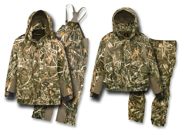 Hunting Dirty Bird line of Browning waterfowl gear
