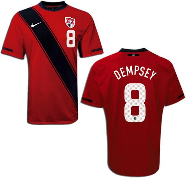 Entertainment DEMPSEY USA Third Soccer Jersey 2012/2013