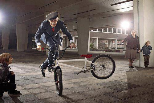 BMX Is Your Gramps This Cool? Probably Not...