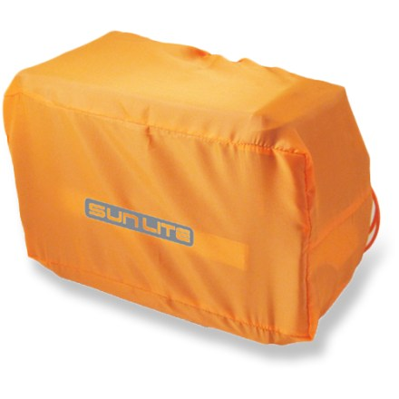 Fitness Perfect for year-round bike commuters, the waterproof Sunlite Small Trunk Bike Bag cover keeps your gear dry even in heavy rain. Durable 190-denier waterproof nylon with elastic edges covers your bike trunk with a snug, secure fit. 11.75 x 7 x 5 in. dimensions cover small bike trunks and bags. Closeout. - $1.73