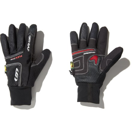 Fitness When the wind chill factor can make the difference between a fun ride and a frigid ride, the women's Louis Garneau Windtex(R) Eco Flex biking gloves offer light insulation. Waterproof, breathable Windtex shell fabric blocks wind and keeps hands dry, and it's breathable enough to wear after the warm-up. Laminated microfleece lining adds a touch of warmth and softness. Gel padding provides shock absorption for comfort during long rides. Ventilation across palms allows continuous air flow, increasing moisture transfer to help keep your hands dry from the inside out. Closeout. - $7.73