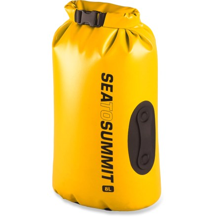 Kayak and Canoe Sized to hold lunch, small electronics or a low-volume extra layer, the tough, waterproof 8L Sea to Summit Hydraulic dry bag protects important gear so you can relax and have fun paddling. - $34.95