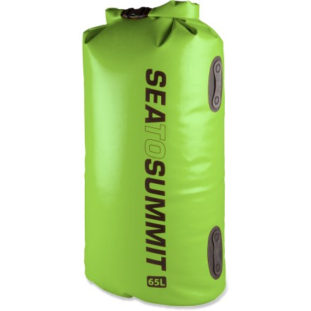 Kayak and Canoe The waterproof 65L Sea to Summit Hydraulic dry bag is big enough and tough enough to protect your sleeping bag, extra layers or other important bulky gear while you're out enjoying the water. - $79.95