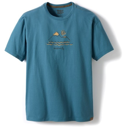 The Life is good(R) Good Karma Organic T-Shirt offers an easy feel that's perfect for relaxation or everyday wear. Made from certified 100% organic cotton for breathable comfort and easy care. Semifitted. Closeout. - $11.73