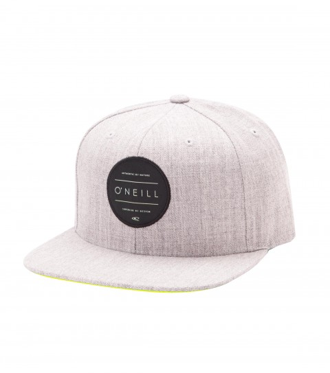 Surf O'Neill Boys Turnover Hat.  Cotton twill snapback hat with HDMD woven label at front; contrast undervisor and taping; rear woven label detail. - $14.99