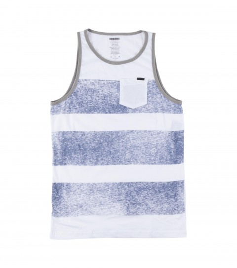 Surf O'Neill Vibrations Tank.  90% Cotton / 10% Polyester.  30 Singles pocket tank with softhand screenprint. - $14.99