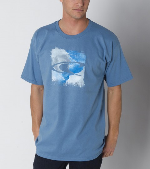 Surf O'Neill Bleeds Tee: 100% ringspun cotton; basic fit tee with softhand screenprint. - $12.99