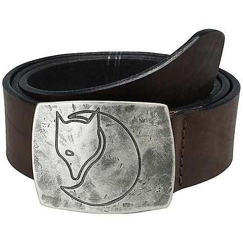 Free Shipping. Fjallraven Murena Silver Belt DECENT FEATURES of the Fjallraven Murena Silver Belt Western style belt with metal buckle in antique silver finish The SPECS 100% leather - $79.95