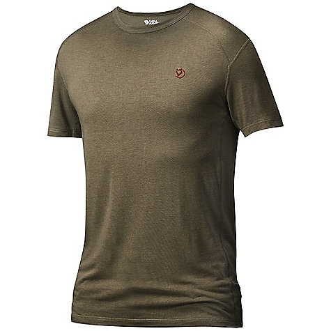 Fjallraven Men's Mard T-Shirt DECENT FEATURES of the Fjallraven Men's Mard T-Shirt Short sleeve T-shirt in a blend of wool and cool touch tencelyarn Flatlockseams to prevent rubbing The SPECS Fabric: 85% tencel 15% wool - $44.95