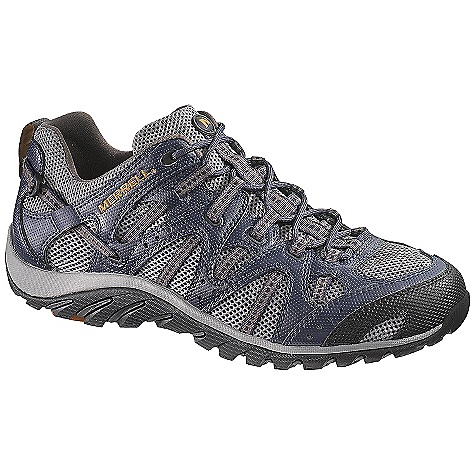 Free Shipping. Merrell Men's WaterPro Manistee Shoe DECENT FEATURES of the Merrell Men's WaterPro Manistee Shoe Strobel construction 2mm EVA insole for comfort and shock absorption Synthetic leather and mesh upper Merrell Omni-Fit lacing system provides a precise, glove-like fit Perforated EVA footbed treated with Aegis The SPECS Weight: 1 lb 6 oz Molded nylon arch shank Compression molded EVA footframe provides cushioning Merrell air cushion in the heel absorbs shock and adds stability 3mm sole lug depth Merrell WaterPro Light Sole/TC5+ Rubber Vegan friendly footwear Water friendly non-marking siped sole - $99.95