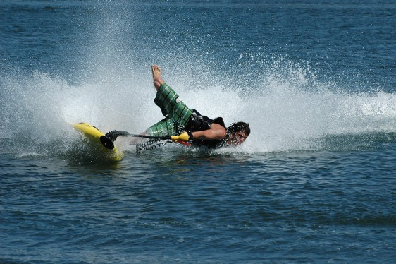 Wake PowerSki JetBoard FacePlant