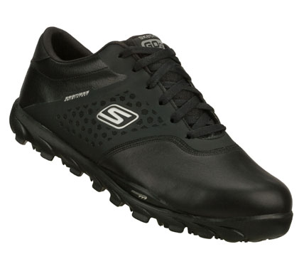 Golf Featuring the award-winning performance innovations found in our running footwear; Skechers GO GOLF is one of the lightest golf shoes available.  The zero drop design keeps your foot in a neutral position that's low to the ground for a solid foundation. - $89.99