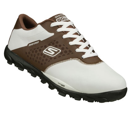 Golf Featuring the award-winning performance innovations found in our running footwear; Skechers GO GOLF is one of the lightest golf shoes available.  The zero drop design keeps your foot in a neutral position that's low to the ground for a solid foundation. - $115.00