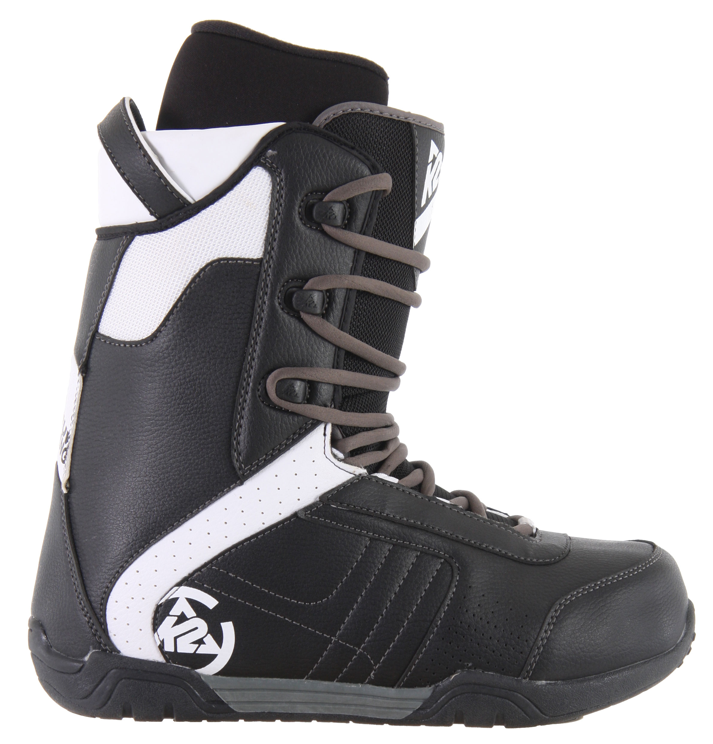 Snowboard Get comfort and performance with K2's Range snowboard boots. The leather forefoot is tough and provides support through the critical forefoot for responsiveness in the turns. The synthetic backstay and toecap add durability so they can take the punishment you dish out, and the EZ-fit 3D lining gives you custom comfort that snugly holds your foot without sacrificing comfort. Ride comfortable all day, and get durable performance with the K2 Range snowboard boots, and tear up the slopes.Key Features of the K2 Range Snowboard Boots: Heel pull Leather forefoot Synthetic Backstay and Toe Cap EZ-Fit 3D Liner Cup Sole - $77.95