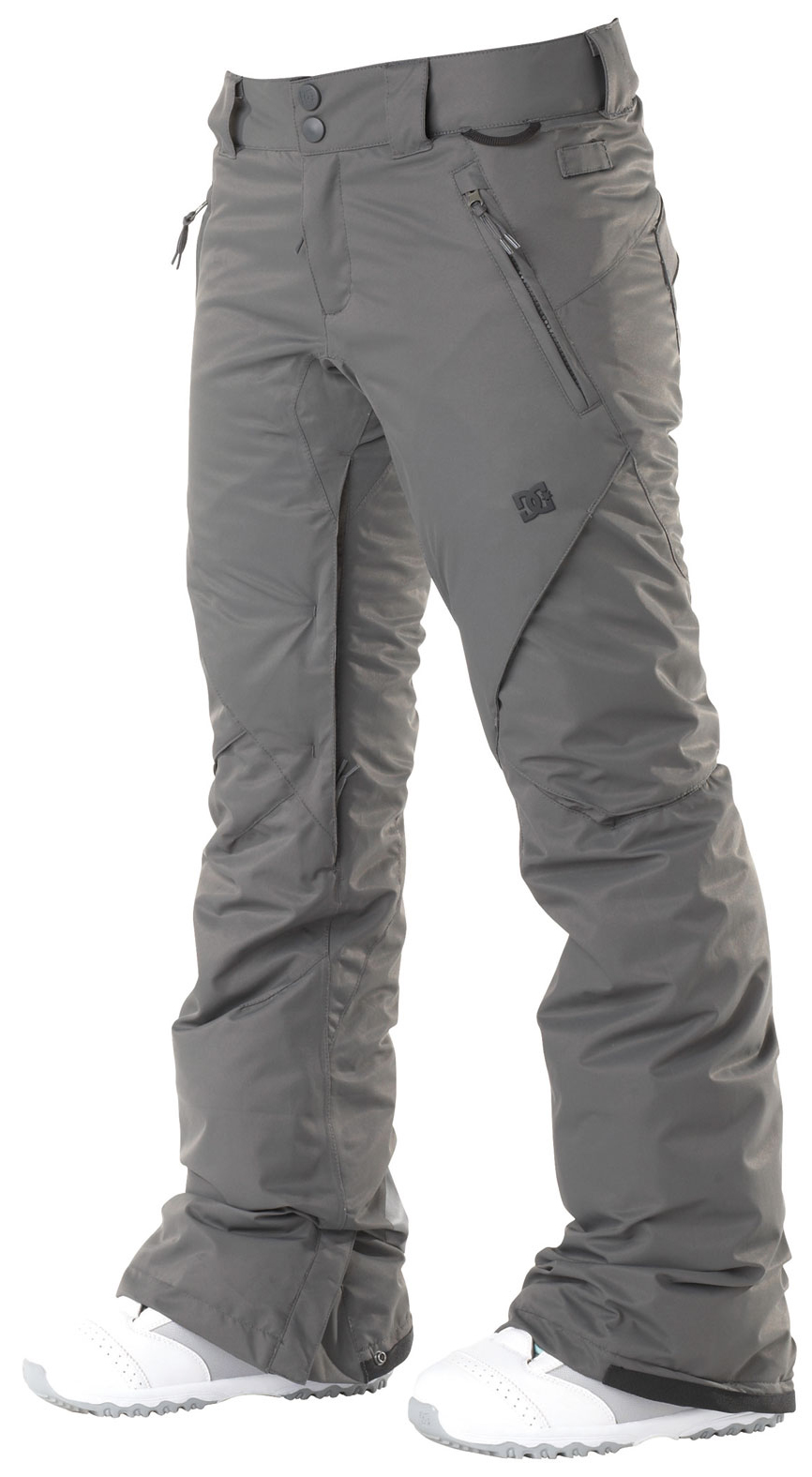 Snowboard With subtle cargo pockets, clean yet modern design, the ace pant is filled with all of dc's standard features. The added insulation will keep you warm in the coldest of climates. Available in both standard and tailored fits.Key Features of the DC Ace S Snowboard Pants: 5,000mm waterproof 5,000g breathability Fit: skinny 100% polyester micro twill midweight Critically taped seams 40g polyinsulation Taffeta lining Mesh lined venting Shant control Boot gaiter Snapped hem boot gusset Lift pass hook - $77.95