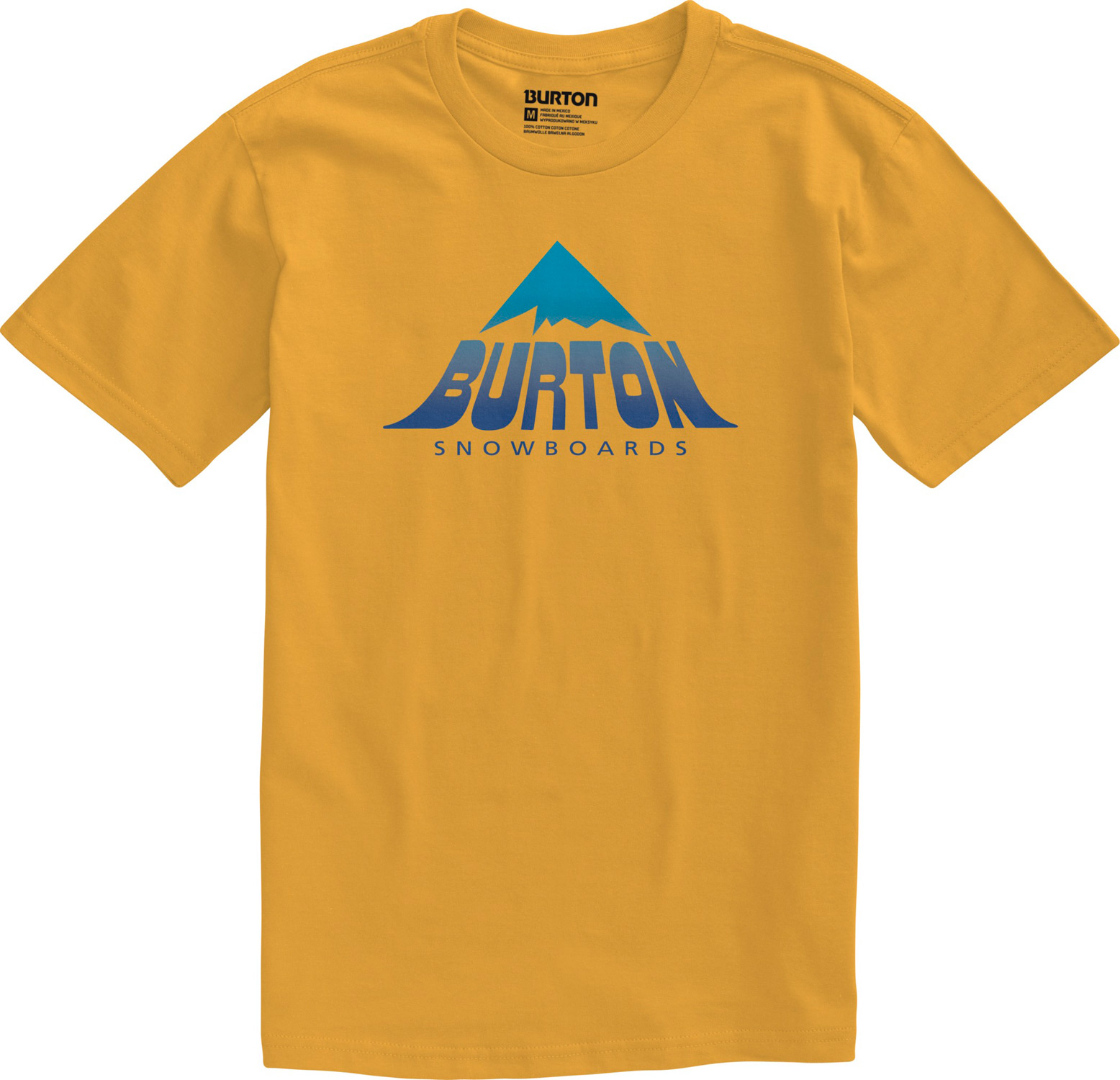 Snowboard Key Features of the Burton Caveat T-Shirt: 90% Cotton, 10% Polyester [Heather Gray] 50% Cotton, 50% Polyester [Heather True Black] 100% Cotton [All Other Colorways] Screen Print on Front Regular Fit - $21.00