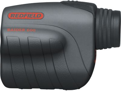 Hunting Put to the test by Redfields own experts, the Raider 600 digital laser rangefinder eliminates the guesswork so you can always take a confident shot. The Raider 600s one-button operation allows you to get a single reading in yards out to 600 yds. or distance updates as you watch your trophy get closer and closer. A simple, three-channel design, light 5-oz. weight and 3.7 height give the Raider 600 a low profile. 6X magnification. Includes one CR-2 battery and a field-ready belt case. Color/camo pattern: Black, Mossy Oak Break-Up Infinity (not shown). Color: Black. - $199.99