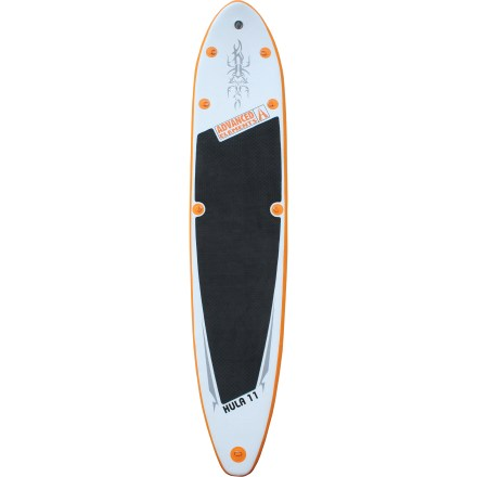 Wake Unfold, inflate, and hit the water in a matter of minutes! Suited for easy storage and rough waters, this inflatable stand up paddleboard provides substantial advantages to the traveling paddler. - $719.93