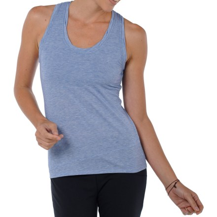 Surf The Horny Toad Swifty Racer tank top has a classic style and is made with a comfy, moisture-managing fabric. Quick-drying recycled polyester is blended with smooth Tencel(R) lyocell fabric and stretchy spandex for unbeatable comfort. - $28.83