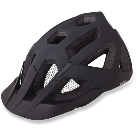 Fitness Perfect for attacking your favorite mountain trails, the Limar X mountain bike helmet offers comfortable coverage that protects against impact while boasting stealthy matte black style. 16 air-channeling vents move cool air over your head, replacing the hot air you're giving off; forward vents contain mesh netting to keep bugs out of your hair. In-mold technology fuses the liner to the microshell to create an exceptionally strong yet lightweight structure. Dial-fit system with height adjustment provides a secure, customized fit for maximum protection. Limar X mountain bike helmet features soft internal pads for moisture-wicking, antimicrobial performance. Removable visor shades face from sun and rain. Overstock. - $64.73
