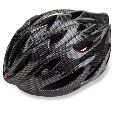 Fitness Keep your cool and stay comfortable on long road rides with the lightweight, ventilated Limar 777 road bike helmet. 24 vents provide maximum breathability for comfort in warm weather; forward vents contain mesh netting to keep out bugs. In-mold technology fuses the liner to the microshell to create an exceptionally strong yet lightweight structure. Dial-fit system with height adjustment provides a secure, customized fit for maximum protection. Limar 777 road bike helmet features removable, machine-washable pads for moisture-wicking, antimicrobial performance. Overstock. - $69.73