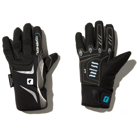 Fitness Perfect for chilly rides, the women's Louis Garneau ETS biking gloves provide full coverage while remaining breathable enough to keep wearing after the warm-up. - $9.73