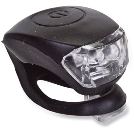 Fitness A beacon in the blackness, the Sunlite TL-L210 Griplite bike taillight helps alert motorists to your 2-wheeled presence when you're cycling down dark roads. 2 LED bulbs shine bright; select on, off, flashing or steady modes with the push of a button. 2 lithium batteries (included) offer up to 100 hrs. of bright light. The Sunlite TL-L210 Griplite bike taillight features a water-resistant silicone body that stands up to nasty weather. No tools needed; flexible strap mounts taillight to a variety of places, stretching around seatpost or bike frame. Overstock. - $6.73