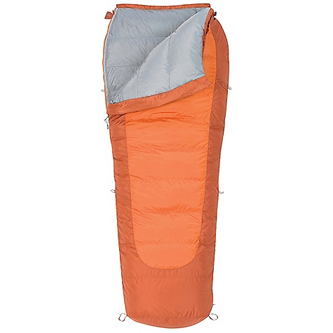 Camp and Hike Free Shipping. Kelty Coromell 0 Sleeping Bag DECENT FEATURES of the Kelty Coromell 0 Sleeping Bag Bo x baffle construction Dual slider, locking blanket zipper Zipper draft tube with anti-snag design Can be fully unzipped and opened flat for use as a blanket Form fitting hood unzips from bag for warmer weather use Internal liner loops Sleeping pad security loops Hang loops for storage Ground-level side seams and differential cut for maximum warmth Stuff sack included FatMan and Ribbon drawcords Captured cordlock Two bags can be zipped together to form a double-wide The SPECS Temperature Rating: 0deg F / -18deg C Shape: Semi-Rectangular Stuffed Diameter: 10in. / 25 cm Insulation: 550 Fill-Power Down Shell: 50D Polyester Taffeta Liner: 50D Polyester Taffeta The SPECS for Regular Fits To: 6' / 183 cm Length: 83in. / 211 cm Shoulder Girth: 66in. / 168 cm Fill Weight: 2 lbs 9 oz / 1.15 kg Total Weight: 4 lbs 5 oz / 1.93 kg Stuffed Length: 16in. / 41 cm The SPECS for Long Fits To: 6' 6in. / 198 cm Length: 89in. / 226 cm Shoulder Girth: 72in. / 183 cm Fill Weight: 2 lbs 12 oz / 1.23 kg Total Weight: 4 lbs 8 oz / 2.02 kg Stuffed Length: 18in. / 46 cm - $229.95