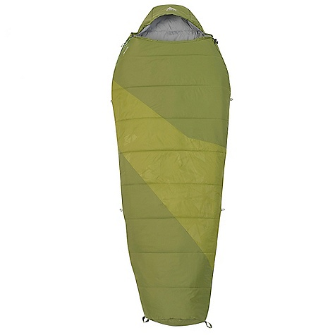 Camp and Hike Free Shipping. Kelty Ignite 40 Sleeping Bag DECENT FEATURES of the Kelty Women's Ignite 20 Sleeping Bag Layered, offset, quilt construction Efficient, form-fitting hood Top draft collar 58in. dual-slider locking zipper Zipper draft tube with anti-snag design Internal liner loops Sleeping pad security loops Hang loops for storage Ground-level side seams and differential cut for maximum warmth Stuff sack included FatMan and Ribbon drawcords Captured cordlock The SPECS EN Lower Limit: 25deg F / -4deg C EN Comfort Limit: 36deg F / 2deg C EN Extreme: -4deg F / -20deg C Shape: Mummy Insulation: EcopetInsulation Shell: 30D Nylon Ripstop Liner: 50D Polyester Micro Pongee Fits To: 5' 8in. / 173 cm Length: 72in. / 183 cm Shoulder Girth: 58in. / 147 cm Fill Weight: 2 lbs 2 oz / 0.95 kg Total Weight: 3 lbs / 1.34 kg Stuffed Diameter: 10in. / 25 cm Stuffed Length: 15in. / 38 cm - $109.95