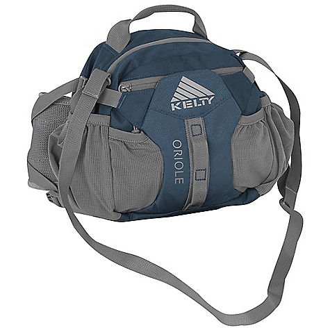 Entertainment Free Shipping. Kelty Oriole Pack DECENT FEATURES of the Kelty Oriole Pack Water bottle pockets Key fob Carry Handle Adjustable, padded shoulder strap The SPECS Volume: 350 cubic inches / 6 liter Weight: 13 oz / 0.3 kg Dimension: 8 x 10 x 4.5in. / 20 x 25 x 11 cm Suspension: Lumbar Body: 420D Polyester Ball Shadow Reinforcement: 450D Polyester Oxford - $54.95