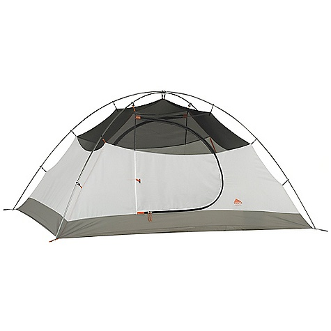 Camp and Hike Free Shipping. Kelty Outfitter Pro 2 Person Tent DECENT FEATURES of the Kelty Outfitter Pro 2 Person Tent Freestanding design Color coded clip construction Taped floor seams ArcEdge Floor Mesh wall panels Internal storage pockets Field repairable zipper Taped seams Side-release tent/fly connection Fly vents Noiseless zipper pulls Guyout points Guyline storage pocket The SPECS Seasons: 3 Number of door: 2 Number of Vestibules: 2 Number of Poles: 2 Pole Type: DAC Pressfit Wall: 75D polyster, 40D mesh Floor: 210D Nylon, 3000 mm Fly: 75D Polyester, 1800 mm Capacity: 2 person Minimum Weight: 6 lbs 6 oz / 2.89 kg Packaged Weight: 6 lbs 14 oz / 3.12 kg Floor Area: 35 square feet / 3.25 square meter Vestibule Area:: 10 + 10 square feet / 0.9 + 0.9 square meter Dimension: 89 x 57 x 43in. / 226 x 145 x 109 cm Packed Dimension: 8 x 23in. / 20 x 58 cm - $249.95