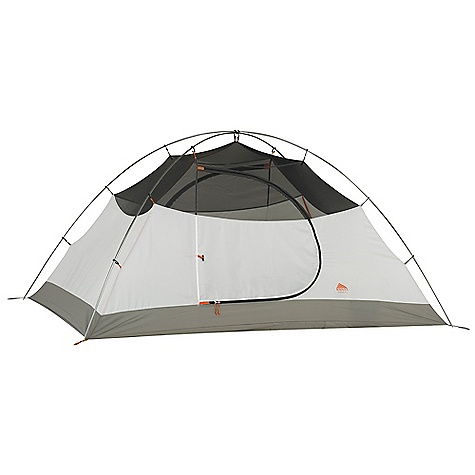 Camp and Hike Free Shipping. Kelty Outfitter Pro 4 Person Tent DECENT FEATURES of the Kelty Outfitter Pro 4 Person Tent Freestanding design Color coded clip construction Taped floor seams ArcEdge Floor Mesh wall panels Internal storage pockets Field repairable zipper Taped seams Side-release tent/fly connection Fly vents Noiseless zipper pulls Guyout points Guyline storage pocket The SPECS Seasons: 3 Number of door: 2 Number of Vestibules: 2 Number of Poles: 2 Pole Type: DAC Pressfit Wall: 75D polyster, 40D mesh Floor: 210D Nylon, 3000 mm Fly: 75D Polyester, 1800 mm Capacity: 4 person Minimum Weight: 7 lbs 8 oz / 3.4 kg Packaged Weight: 8 lbs 1 oz / 3.66 kg Floor Area: 60 square feet / 5.58 square meter Vestibule Area:: 12 + 12 square feet / 1.1 + 1.1 square meter Dimension: 87 x 99 x 52in. / 221 x 251 x 132 cm Packed Dimension: 8 x 25in. / 20 x 63 cm - $329.95