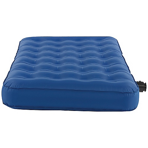 Free Shipping. Kelty Sleep Eazy Airbed DECENT FEATURES of the Kelty Sleep Eazy Airbed PVC Free Circular Coil for support 6V rechargeable pump with car and wall charger Includes Kelty Binto for storage Repair kit included The SPECS Shape: Rectangular TPU Laminate / 70D Nylon Height: 8.5in. / 21.6 cm Packed Length: 15in. / 38 cm Packed Width: 8in. / 20 cm Packed Height: 16in. / 41 cm The SPECS for Twin Length: 74in. / 188 cm Width: 39in. / 99 cm Weight: 5 lbs 5 oz / 2.4 kg The SPECS for Queen Length: 78in. 198 cm Width: 60in. 163 cm Weight: 6 lbs 15 oz 3.1 kg - $129.95