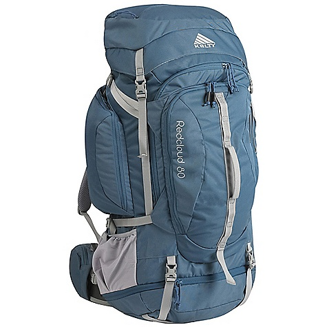 Camp and Hike Free Shipping. Kelty Women's Red Cloud 80 Pack DECENT FEATURES of the Kelty Women's Red Cloud 80 Pack Sleeping bag compartment Front-panel access Lid converts into lumbar pack Hydration compatible Lower compression and pad straps Ice-axe loop Zippered side pockets Hip belt pockets LightBeam dual aluminum stays Dynamic AirFlow back panel AirMesh shoulder straps, waist belt, and lumbar HDPE reinforced waist belt Dual density foam waist belt Removable waist belt Hipbelt stabilizer straps Scherer Cinch (US Pat#5,465,886) The SPECS Torso Fit Range: 14.5 - 18.5in. / 37 - 47 cm Volume: 5100 cubic inches / 84 liter Weight: 5 lbs 7 oz / 2.4 kg Length: 32in. / 81 cm Width: 18in. / 46 cm Depth: 15in. / 38 cm Body Fabric: 420D Polyester Ball Shadow Reinforcement Fabric: 450D Polyester Oxford Suspension: CloudLock II Adjustable Suspension - $219.95