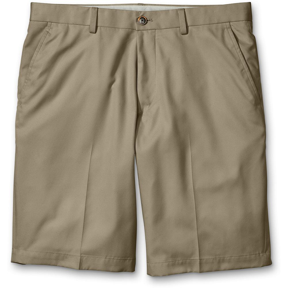 Golf Eddie Bauer Classic Fit Golf Shorts - Now with more room in the seat and rise for an easier, more comfortable fit. Breathable, lightweight and versatile, innovative Cocona polyester fabric wicks moisture and dries quickly. 50+ UPF sun protection and odor resistant. Welt pockets. Classic fit. Polyester/Cocona. Imported. - $14.99