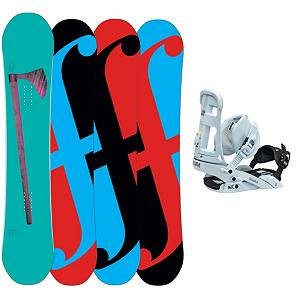 Snowboard Forum Holy Moly Snowboard and Binding Package - If you're looking for a freestyle board that meets your highest demands, then you'll want to pick up this Forum Holy Moly Snowboard Package. This package includes the Forum Holy Moly Snowboard which is built for the true park rider. It features Grand Pops which increases the pop zones by flatting out the contact points just inside the nose and tail. This creates a larger platform for a much bigger ollie. Added to the Holy Moly II are Car Bombs Carbon Booms which are solid carbon inlayed into the tip and tail for even more snap and boom. Your bindings will consist of the Burton Bootlegger Restricted Bindings. The Single-Component, Lightweight, Bomb-Proof Polycarbonate Re:Flex baseplate provides ultimate boardfeel and tweakability. The Single-Component Gumbo highback is super soft and bends to your will. Asym Superstrap conforms to your boot and can be flipped for the ultimate control over strap flex. The new Smackdown Toe Strap bear hugs your toebox while keeping you comfortable. Smooth Glide Buckle ratchets quickly and releases even quicker. Lightweight and comfortable, the Forum Holy Moly Snowboard Package has it all so you can play all day on a ride known for producing some of the best ollies. . Snowboard Best Use: Freestyle, Snowboard Rocker Profile: Camber, Package Type: Board and Bindings, Skill Range: Advanced Intermediate - Expert, Product ID: 311183, Gender: Mens, Skill Level: Advanced Intermediate - $399.93