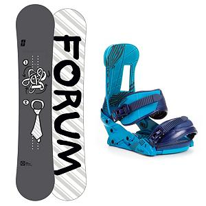 Snowboard Forum Manual Snowboard and Binding Package - The Forum Manual Snowboard Package has an awesome board and binding combo to give you a bad ass experience in the park. The Forum Manual Snowboard features the ChillyDog with Pop rocker which can hold presses like nobodies business without losing any pop. The bevel edges give you the confidence when charging through the park while hitting every jib you find. The Manual is outfitted with a Bad Ass Core which makes it even more indestructible and Swingers Club which reduces the swing weight in the air creating faster spins. The Forum The Faction Bindings has everything you need to improve your park riding. Forum's Good Vibes Hinge Disk and Split baseplate allow your board to flex naturally underfoot, giving you more freestyle feel and eliminating the dead spot underneath your feet. To ensure your heel is secured into the binding the Throw down Capstrap molds around your boot giving you superior edge control. The Forum Manual Snowboard Package is a mean machine so you better know what you're doing when you take it on. . Recommended Use: Freestyle, Snowboard Rocker Profile: Rocker, Package Type: Board and Bindings, Skill Range: Beginner - Advanced Intermediate, Model Year: 2013, Product ID: 311203, Gender: Mens, Skill Level: Beginner - $349.90
