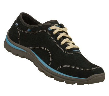 VIP Section ready style and blissful comfort comes in the SKECHERS Relaxed Fit(R): Superior - Celeb shoe.  Soft suede upper in a lace up sporty casual comfort oxford with stitching; overlay and perforation accents. - $65.00