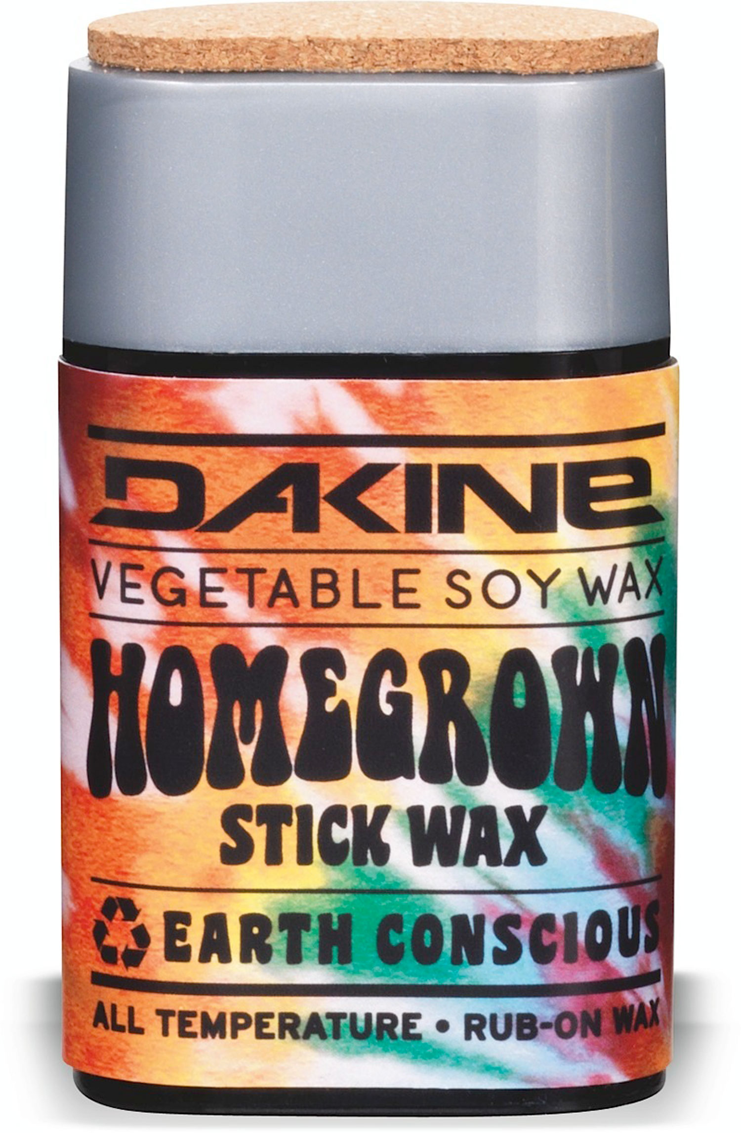 Surf Key Features of the Dakine Home Grown Soy Stick Wax 2oz: Soy based wax Two step application Rub on, then buff into base with attached cork Push up container for easy on-hill application All Temp formula provides hot wax performance without the hassle - $18.00
