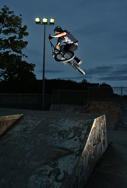 BMX Wooshty Down Table