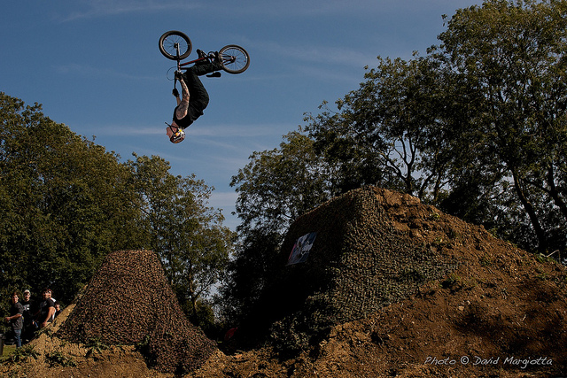 BMX glen - backflip