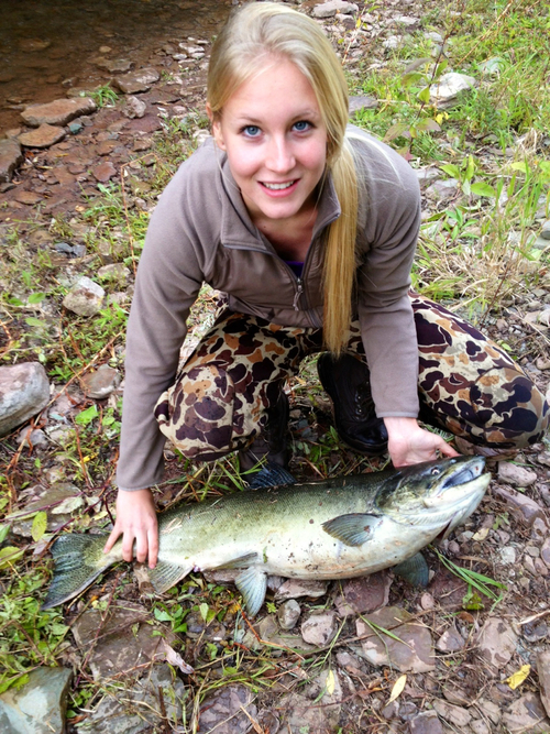 Fishing Second salmon :)