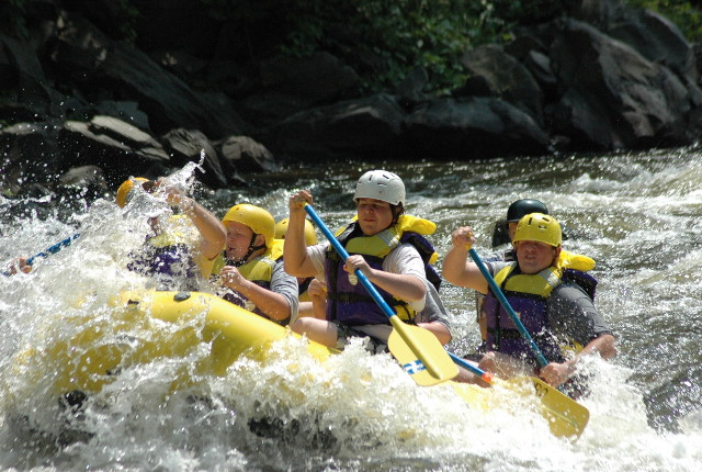 Wake Rafting in the Smokies