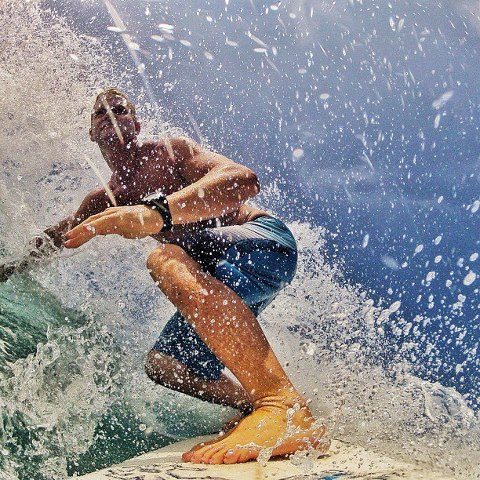 Surf Surfing is a form of art..