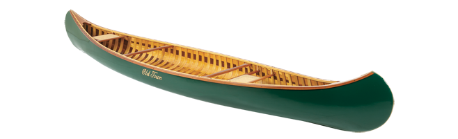 "Kayak and Canoe Old Town Canoe ""A"" model remains virtually unchanged since the turn of the last century"