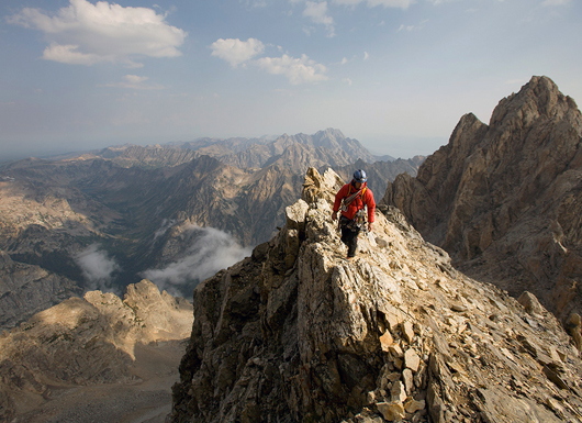 Climbing Climbing the Tetons' Cathedral Traverse - Grand Teton, Teewinot and Owen