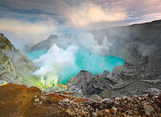 Camp and Hike Peering into Java's Volcanoes - Indonesia