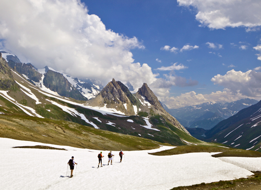 Camp and Hike Trekking the 100 mile Mont Blanc Circuit